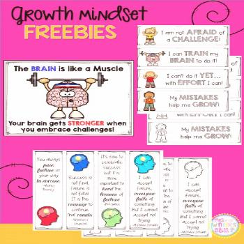 Do your students have a growth mindset or a fixed mindset? Here are some engaging activities for el