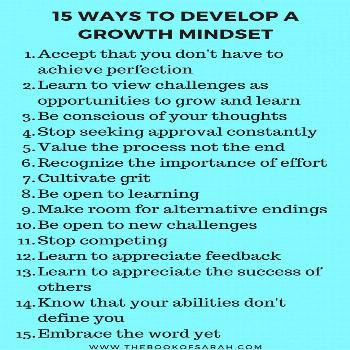 How to develop a growth mindset How does a growth mindset thinks? Here is how you can change from a