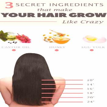 How to make your hair grow with only 3 ingredientsCastor oil– removes bacteria from your body,