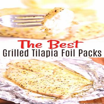 This Lemon Pepper Grilled Tilapia recipe tastes amazing and is so easy to make! You can have dinner