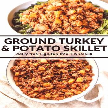 Wondering what to make for dinner? Quickly throw together this hearty one pot meal of turkey and po