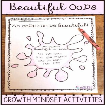 Your k-2 students will love learning about making mistakes and having a growth mindset with the boo
