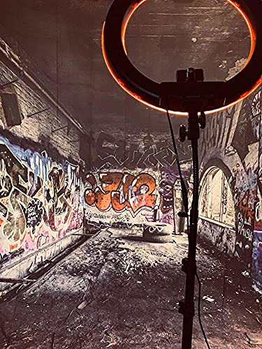 LFEEY 8x8ft Graffiti Wall Backdrops for Photography